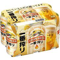 キリン 一番搾り 350ml 6缶