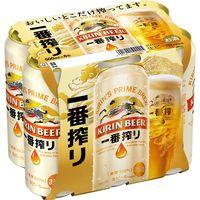キリン 一番搾り 500ml 1パック(6缶入)