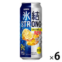 キリン 氷結ストロング <レモン> 500ml 1セット(6缶)