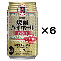 焼酎ハイボール ドライ 350ml 6缶