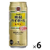 焼酎ハイボール レモン 500ml 6缶