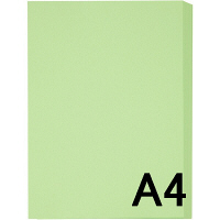 アスクル カラーペーパー A4 グリーン 1セット(500枚×3冊入)