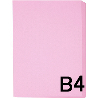アスクル カラーペーパー B4 ピンク 1セット(500枚×2冊入)