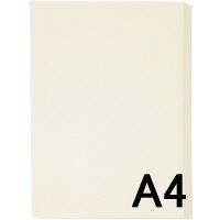 アスクル カラーペーパー A4 アイボリー 1箱(500枚×10冊入)