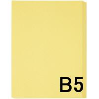 アスクル カラーペーパー B5 クリーム 1箱(500枚×10冊入)