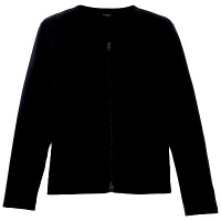 D-PHASE(ディーフェイズ) ダブルジップ 綿カーディガン 女性用 長袖 ネイビー L ASDPS01NVL