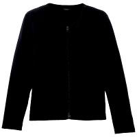 D-PHASE(ディーフェイズ) ダブルジップ 綿カーディガン 女性用 長袖 ネイビー M ASDPS01NVM