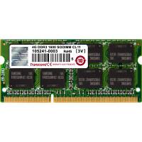 トランセンド DDR3 4GB ノート用増設メモリ TS512MSK64V6N 1個