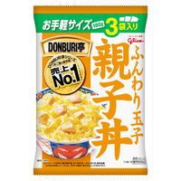 江崎グリコ DONBURI亭 親子丼3食