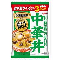 江崎グリコ DONBURI亭 3食パック中華丼