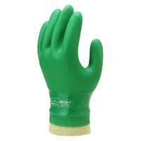 ショーワグローブ グリーンジャージ LLサイズ No.600LL 1セット(5双)