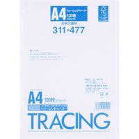 アスクル トレーシングペーパー A4 300枚(100枚×3冊)