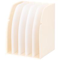 リヒトラブ ブックスタンド 5ブロック 白 G1650 1セット(2個:1個×2)