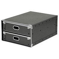 硬質パルプボックス・引出式・2段 47300239 無印良品