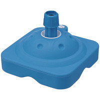 アスクル のぼり用スタンド コンパクトタイプ ブルー 1セット(5台)