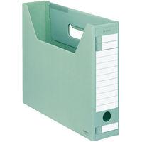 コクヨ ファイルボックス-FS Dタイプ A4ヨコ 背幅75mm 緑 A4-SFD-G 1セット(10冊)