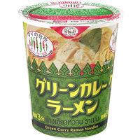 タイの台所カップグリーンカレーラーメン
