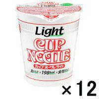 日清カップヌードルライト しょうゆ12食