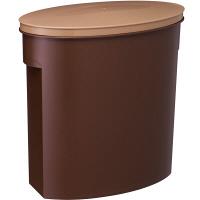 お米袋そのまま保存ケース5kg ブラウン I-327-BR 伊勢藤 米 保存容器