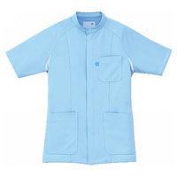 ルコック メンズセンターFジャケット Lブルー QNM1002N(UQM1002) AQA L (直送品)