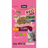 Carat NEO(キャラットミックス ネオ) キャットフード ささみ風味 1kg 1個(250g×4袋) 日清ペットフード
