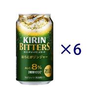 キリン ビターズ ほろにがジンジャー6缶