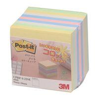 スリーエム ジャパン ポスト・イット(R)ノート再生紙カラーキューブ 50×50mm CPRP-Y-22SE 1冊(450枚入)