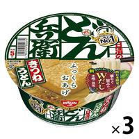 日清食品 日清のどん兵衛 きつねうどん(西日本版) 1セット(3食入)