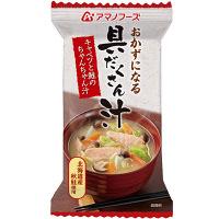アマノフーズキャベツと鮭のちゃんちゃん汁