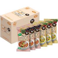 インスタントスープ 食べる温野菜スープ2種セット 1箱(6食入) アマノフーズ