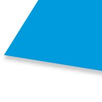 大王製紙 色画用紙 八切 青 B-34 1セット(50枚:10枚入×5)