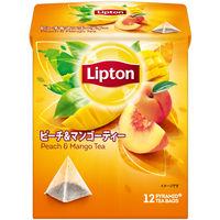 リプトン リプトン ピーチ&マンゴーティー ティーバッグ 1袋(12バッグ入)
