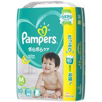 パンパース おむつ テープ M(6~11kg) 1パック(80枚入) さらさらケア ウルトラジャンボ オムツ P&G