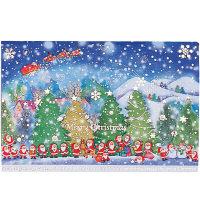 クリスマスカード 夜