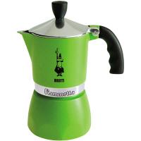 モカ フィアメッタ3カップ グリーン 3962 BIALETTI(ビアレッティ) (取寄品)