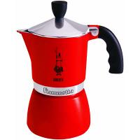 モカ フィアメッタ3カップ レッド 4082 BIALETTI(ビアレッティ) (取寄品)