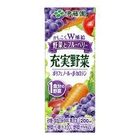 充実野菜 ブルーベリーミックス 24本
