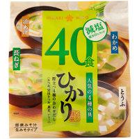 ひかり即席みそ汁減塩味噌 40食