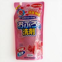 おふろの洗剤 泡タイプ 咲きたてローズの香り 詰替用 350ml
