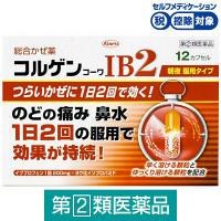 【指定第2類医薬品】コルゲンコーワIB2 12カプセル 興和★控除★