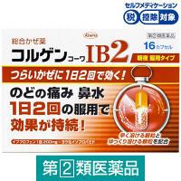 【指定第2類医薬品】コルゲンコーワIB2 16カプセル 興和★控除★
