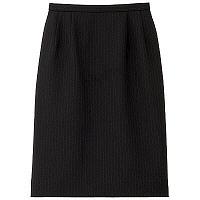 BON(ボン) 事務服 小さいサイズ マニッシュライン ストレッチタイトスカート 7号 ネイビー×パープル HW2240A