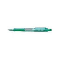 油性ボールペン ジムノック 0.7mm 黒インク 緑軸 6本 ゼブラ (直送品)