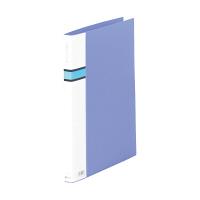 キングジム ロングZファイルPP 572 A4S青 572アオ 1袋(3冊入) (直送品)