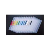 セキセイ クリップインファイル SSS-105 レッド SSS-105-20 1袋(5冊入) (直送品)