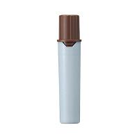 プロッキー 水性ペン 太・細ツイン 詰替カートリッジ 茶 3本 三菱鉛筆 uni(直送品)