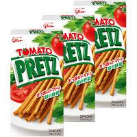 グリコ トマトプリッツ 60g 3個