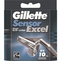 ジレット センサーエクセル 替刃10枚