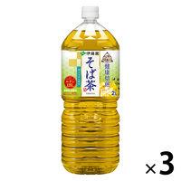 伝承の健康茶 そば茶 2L 3本