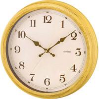 【アウトレット】ノア精密 電波時計 エアリアルレトロ イエロー 1個